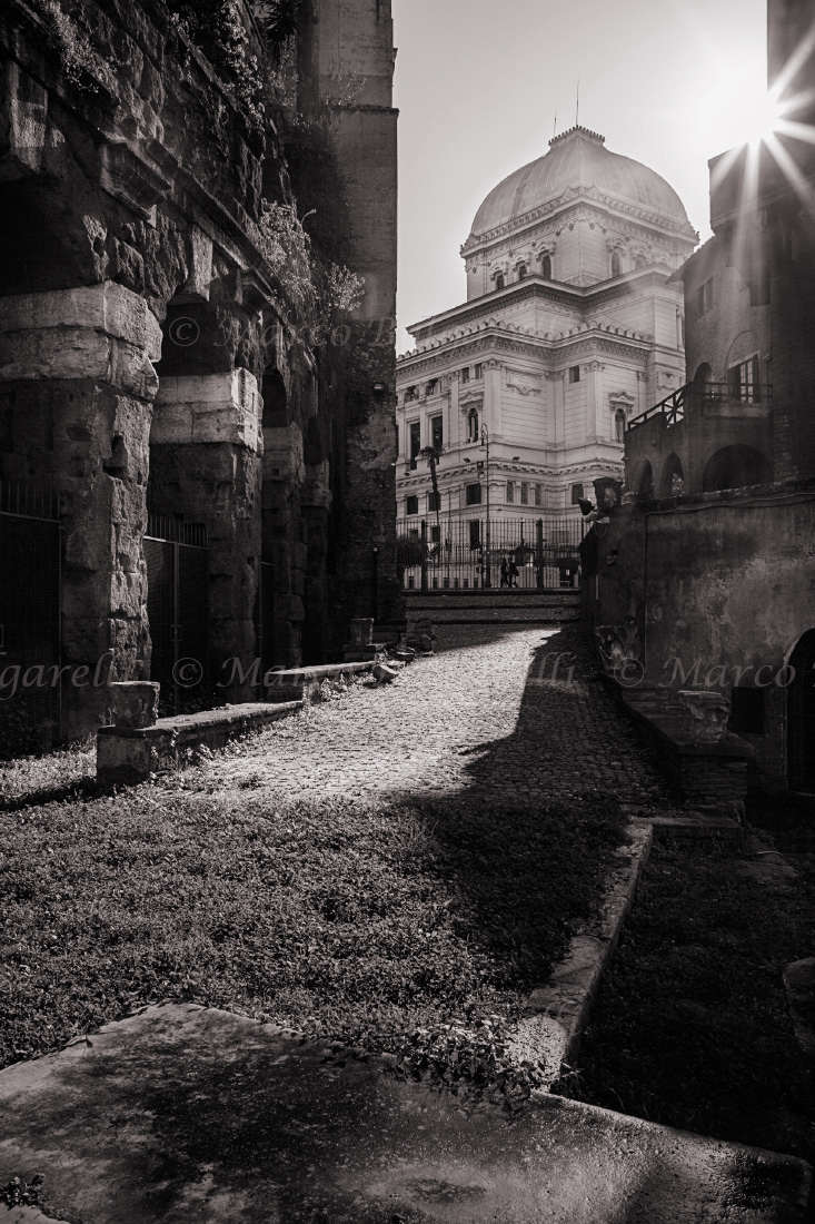 Rome black and white photography marco bulgarelli fine art photo